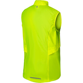 Endura Pakagilet Vest Heren, neon yellow